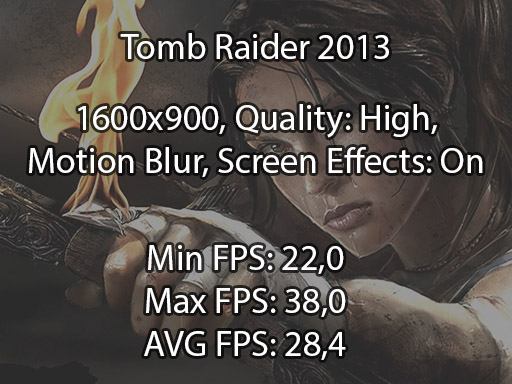 Tomb Raider 2013 N76VB benchmark