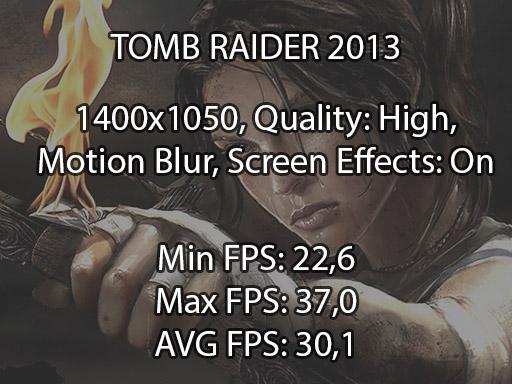 Tomb Raider 2013 benchmark