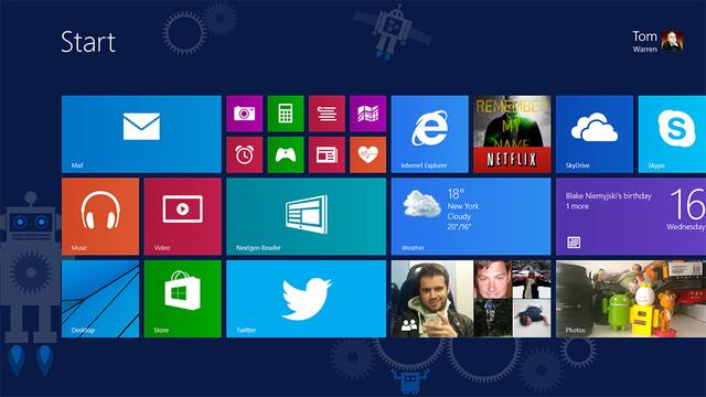 Windows 8.1 ModernUI