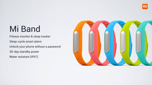 Xiaomi Mi Band 02