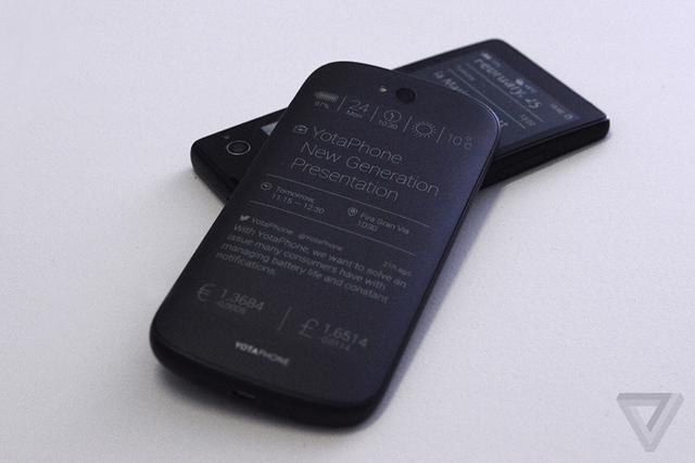 YotaPhone Prototype 01