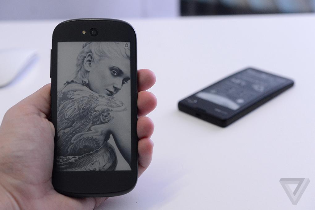 YotaPhone Prototype 02
