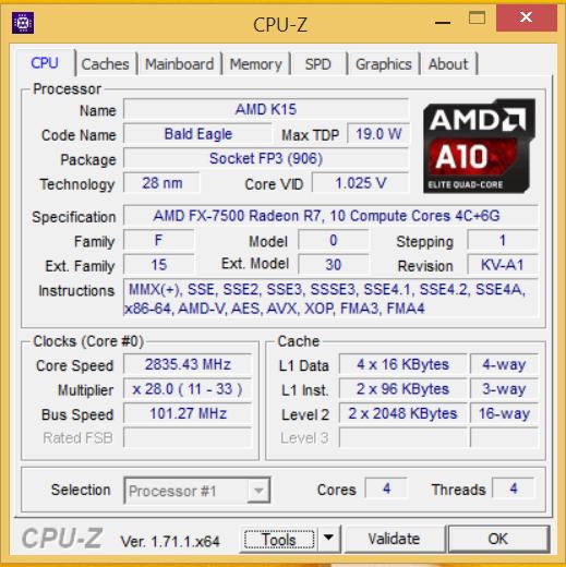 Z50-75 CPU-Z 01