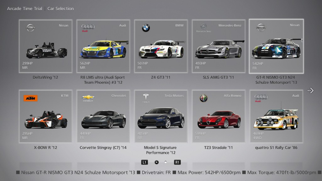 gt6 cars