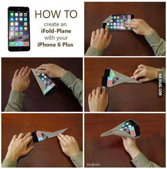 iFold-Plane iPhone 6 Plus