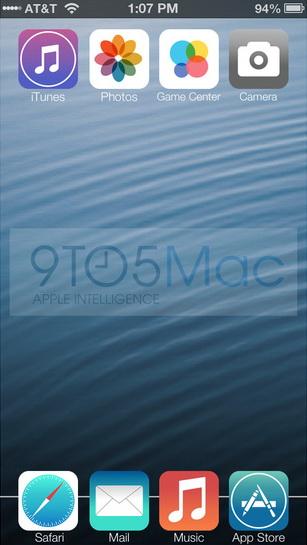 iOS7 glasina