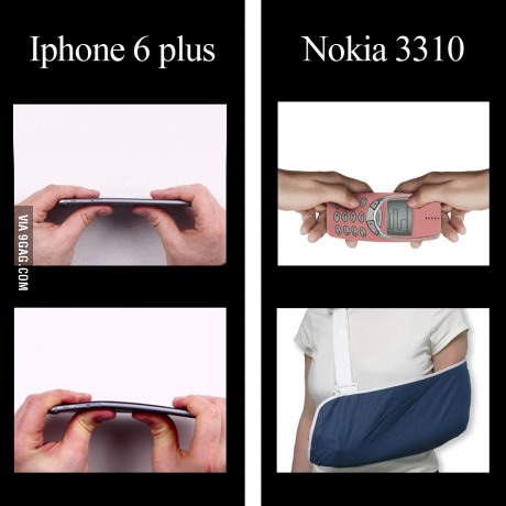 iPhone 6 Plus vs Nokia 3310