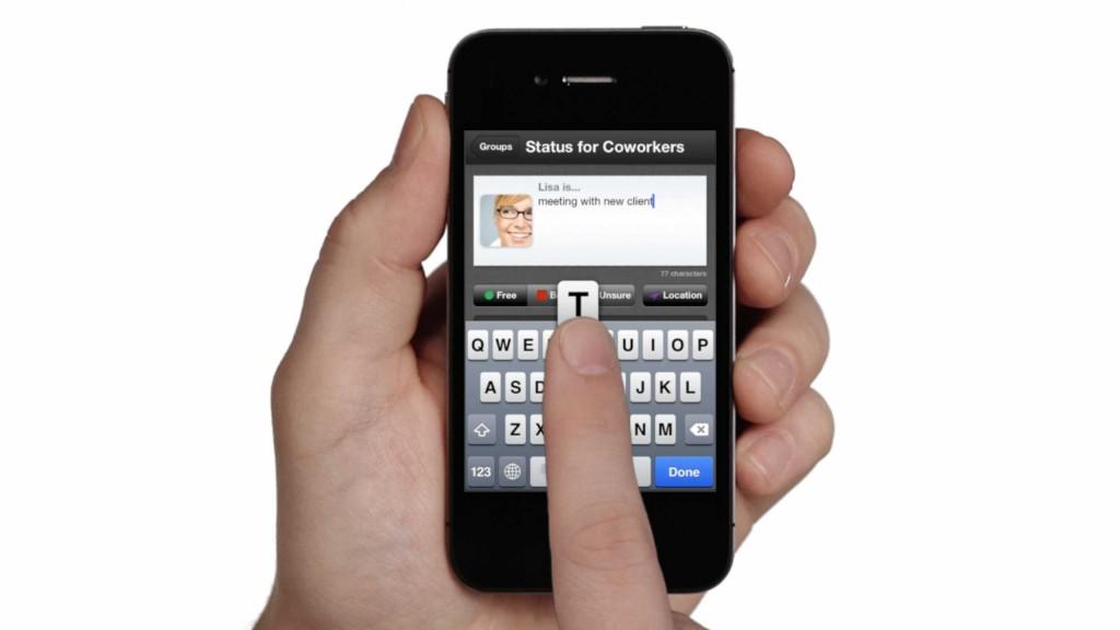 iPhone u ruci