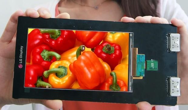 LG Quad HD ekran