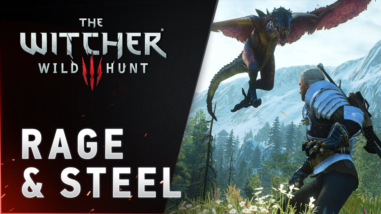 The Witcher 3 Wild Hunt - RAGE & STEEL trailer